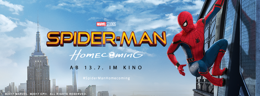 SPIDER-MAN: HOMECOMING ab 14.7.