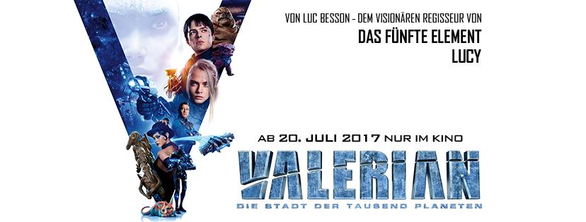 VALERIAN – DIE STADT DER TAUSEND PLANETEN ab 20.7.