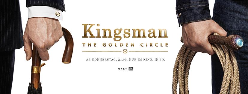 KINGSMAN: THE GOLDEN CIRCLE ab 21.9.
